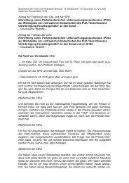 zur Weitergabe von vertraulichen Dokumenten ... - Politikschmiede