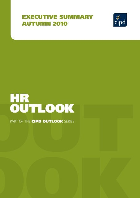 HR OUTLOOK - CIPD