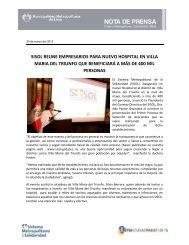 sisol reune empresarios para nuevo hospital en villa maria del ...