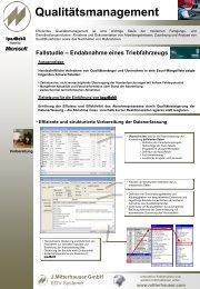 Qualitätsmanagement - Johann Mitterhauser GmbH