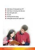 Hướng dẫn tuyển sinh 2009 - FPT - Page 2