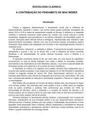 max weber ii - Associação Palotina