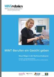 MINT - Berufen ein Gesicht geben - Innovationsbüro Fachkräfte für ...