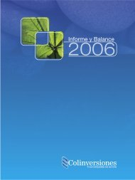 Informe Anual 2006 - Celsia