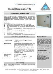 Ecomatic 100 Rückseite - HyperDES watertechnology GmbH