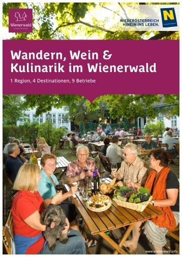 Wandern, Wein & Kulinarik im Wienerwald Reiseleis - Baden