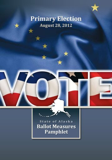 Primary Election - Alaska Elections State Division of Elections