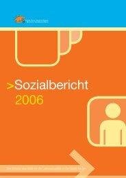 Sozialbericht 2006 - Betrieb für Sozialdienste Bozen