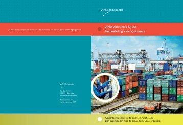Arbeidsrisico's bij de behandeling van containers - Inspectie SZW