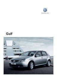 Automobili per amore - VW Golf Community