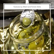 Texturas by Albert and Ferran Adria