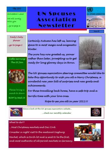 Issue 8, December 2010