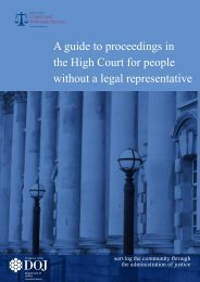 A guide to proceedings in the High Court for people without a legal ...