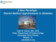 A New Paradigm: Shared Medical Appointments in Diabetes