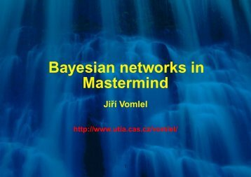 Bayesian networks in Mastermind