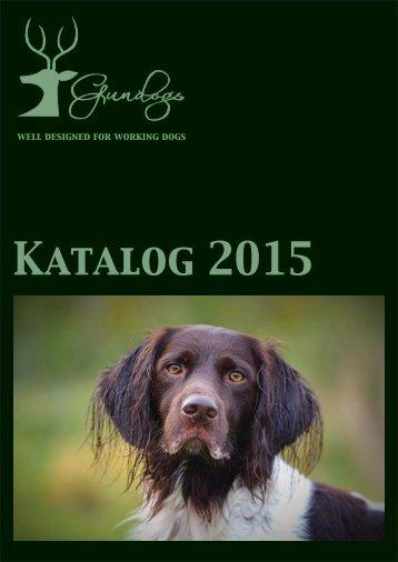 GUNDOGS Katalog 2015