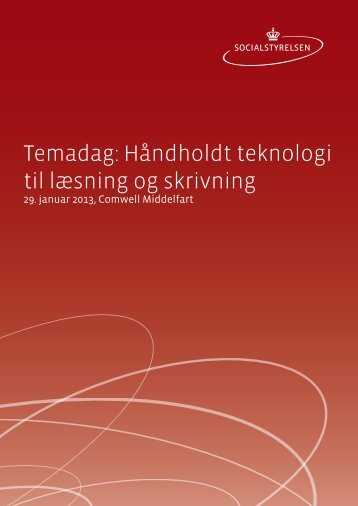 Temadag: Håndholdt teknologi til læsning og skrivning