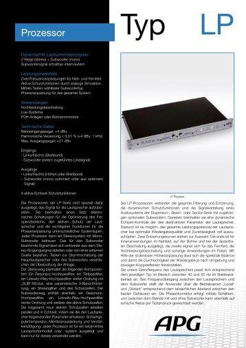 Prozessor - APG