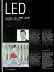 Technischer Ausbau Technical Solutions