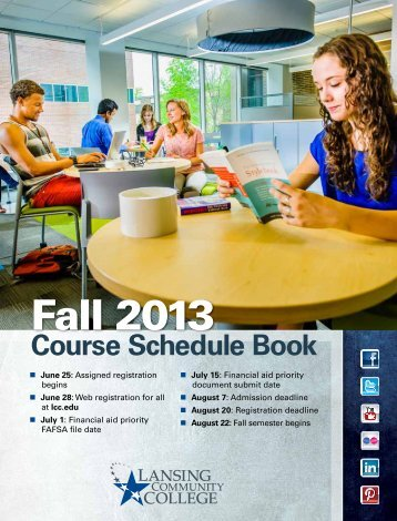 Fall Semester 2013 Course Schedule Book - Lansing Community ...