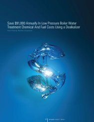 Save $91,000 Annually In Low Pressure Boiler Water Treatment ...