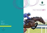 HRI Fact Book 2011 - Horse Racing Ireland