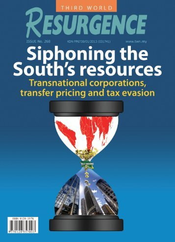 Siphoning the South's resources - Third World Network