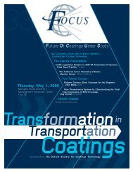 2008 Transformation in Transportation Coatings - Future Of ...