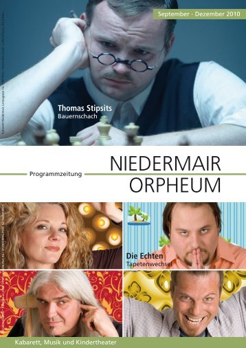 NIEDERMAIR ORPHEUM - Kabarett Niedermair
