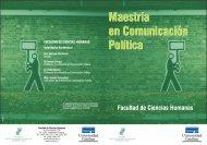 Maestría en Comunicación Política - Universidad Católica del Uruguay