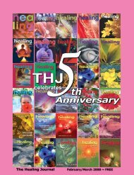 February/March 2008 - The Healing Journal Magazine