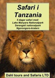 Lake Manyara Serengeti Ngorongoro-kratern - Dahl Safaris