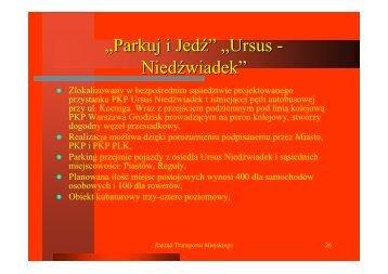 Parkingi strategiczne cz.2 - Warszawa