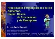 Propiedades Farmacológicas de los Alimentos. Dietas: Básica de ...