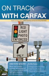 IN THE NEWS - CARFAX Banking & Insurance Group