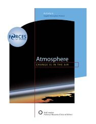 Activity 6: Caught! Atmosphere Protects (PDF) - Forces of Change