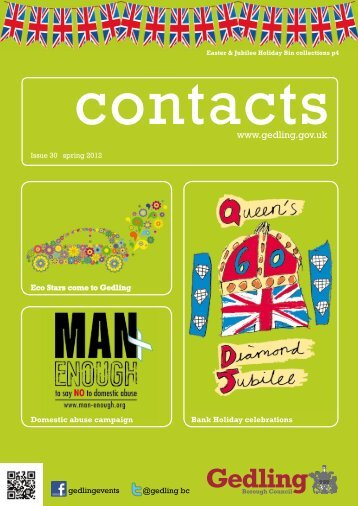 Contacts - Issue 30 - Gedling Borough Council