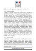 Liste des départements reconnus au cours du CNAA du 12 juillet 2011 - Page 3