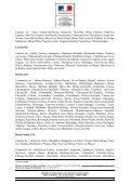 Liste des départements reconnus au cours du CNAA du 12 juillet 2011 - Page 5
