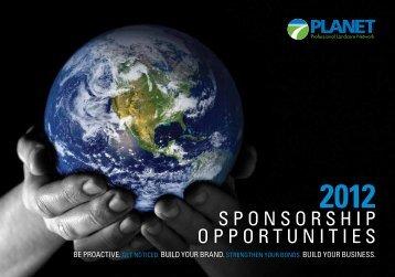 2012 Sponsorship Opportunities Brochure - LandcareNetwork.org