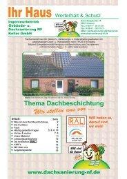 Ihre Werte erhalten und neu gestalten - dachsanierung-nf.de