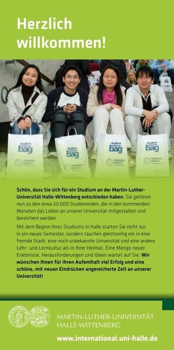 Herzlich willkommen! - Erasmus