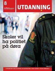 Utdanning 08/2011 her (pdf) - Utdanningsnytt.no