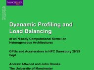 Dynamic Profiling and Load Balancing of an N-body Computational ...