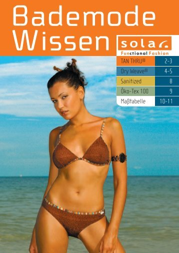 TAN THRU® 2-3 Dry Weave® 4-5 6-7 Sanitized  8 ... - Solar-swim.com