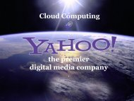 the premier digital media company Cloud Computing