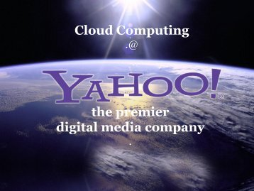 the premier digital media company Cloud Computing