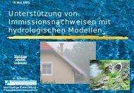 Vortrag M. Scheibel - Hydrotec