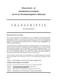 T   R   A   N   SCRIPT   I   E - St. Plechelmusbasiliek Oldenzaal