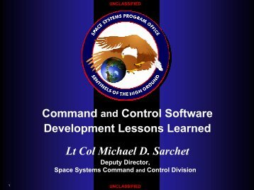Command and Control Software Development Lession Learned